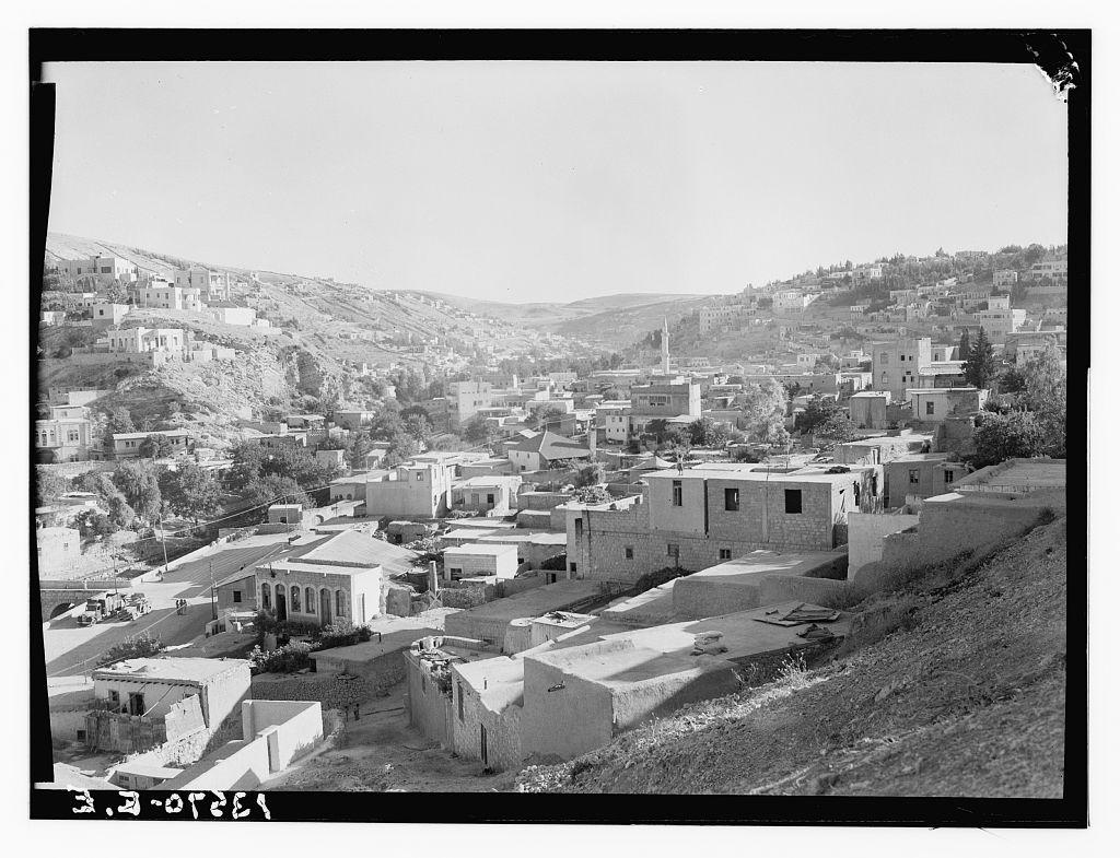 Amman, The Town