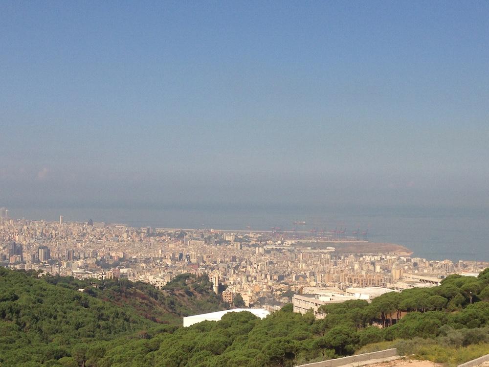 Beyrouth, près de l'Hôtel-Dieu, automne 2011