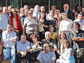 Ifpo, rentrée 2011 : photo de groupe à Beyrouth