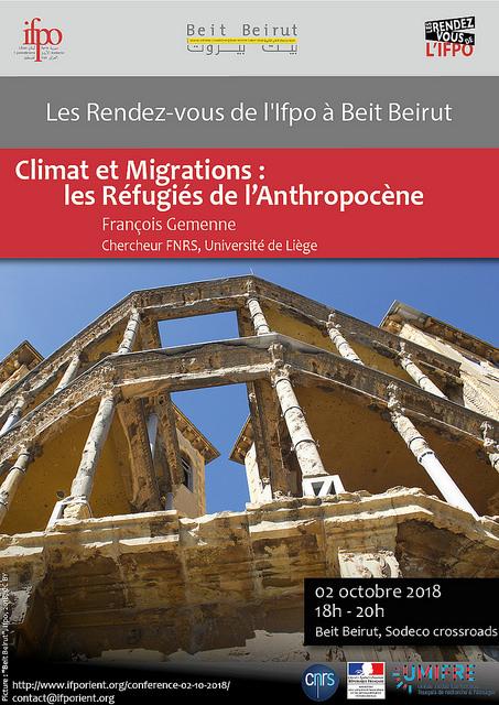 Climat et Migrations : les Réfugiés de l'Anthropocène