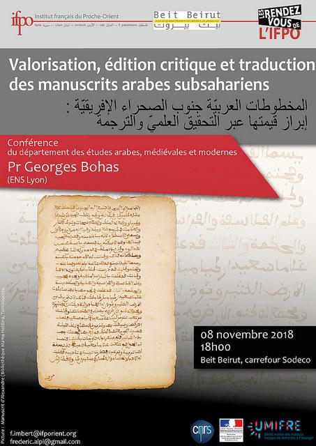 Conférence 08/11/2018
