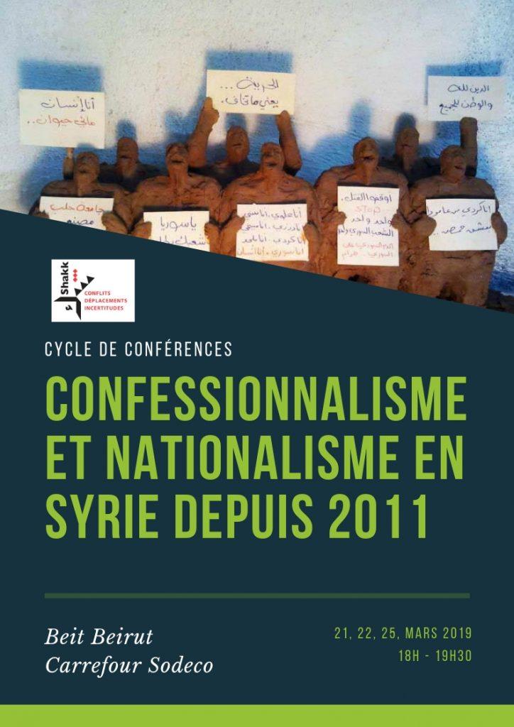 Confessionalisme et nationalisme en Syrie depuis 2011