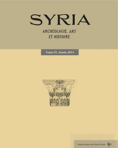 Couverture syria 91, 2014