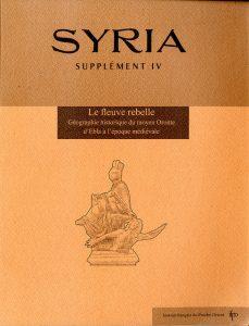 Couverture Syria Supplément IV
