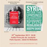 Affiche book presentation 29/09/2019
