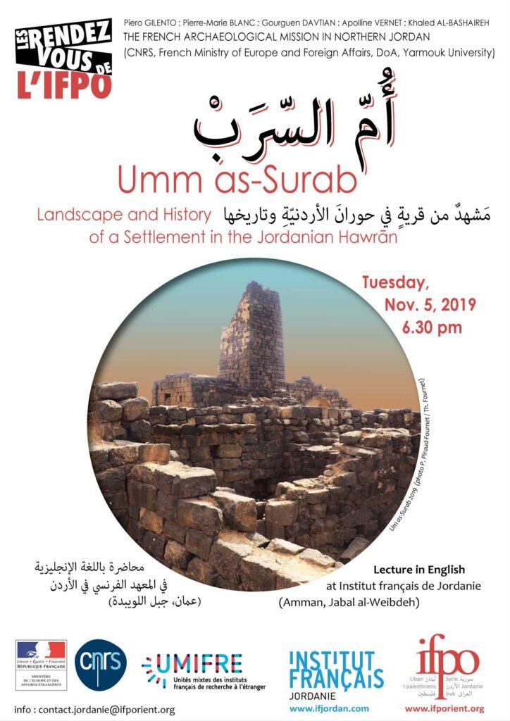 Talk Umm as-Surab 05/11/2019