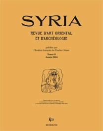 Syria 81, 2004