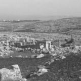 Image du site de Déhès à Jebel Barisha, en Syrie du Nord durant les années 1960