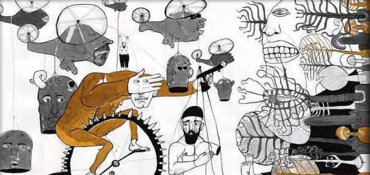 Dessin symbolisant la révolte syrienne