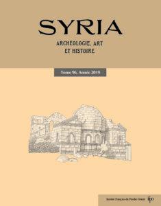 Syria 96, 2019 Couv.